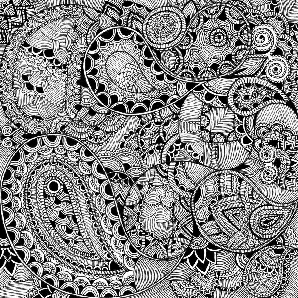 Uncategorized Intricate Pattern mariya paskovskys intricate patterns jen vaughn artist agency patterns