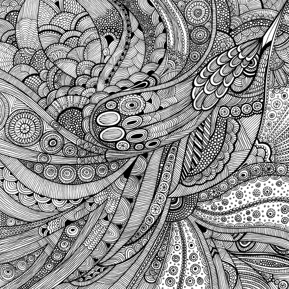 intricate shape designs coloring pages - photo#27