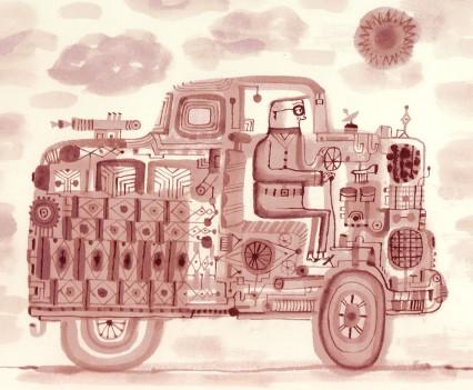 calef-brown-ink-car