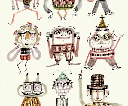 calef-brown-ink-characters-elves