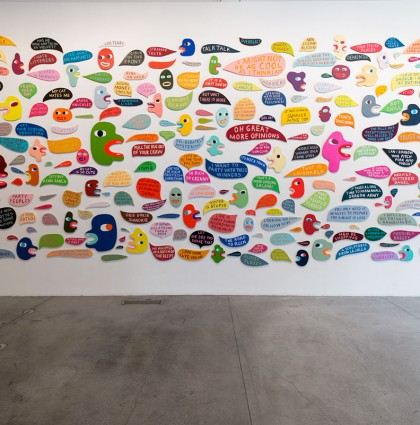 Martha Rich gallery show at Wieden + Kennedy in Portland