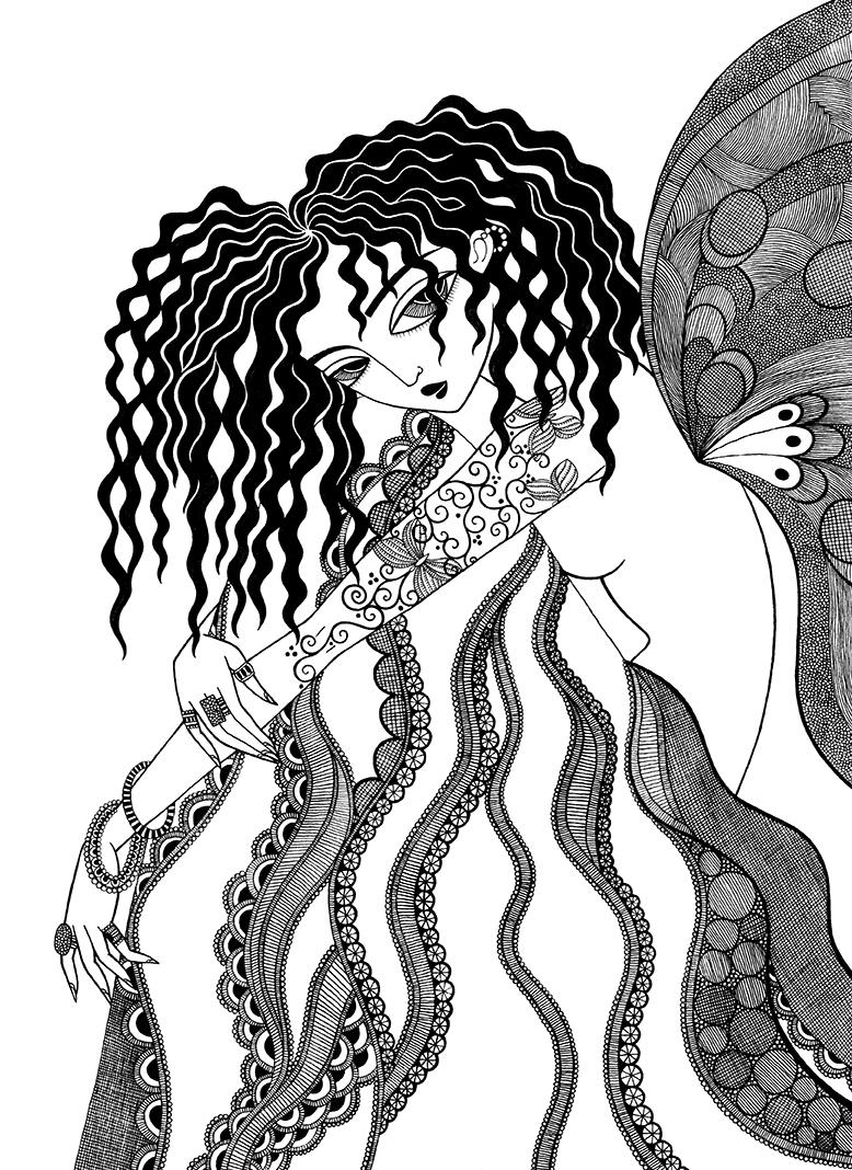 mariya-paskovsky-butterfly girl 1