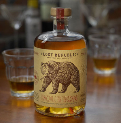 Dave Stevenson for Lost Republic Bourbon