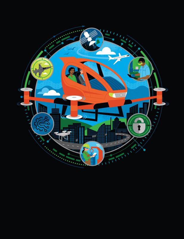 lucie rice deloitte aerospace and defense 2019 paris international air show